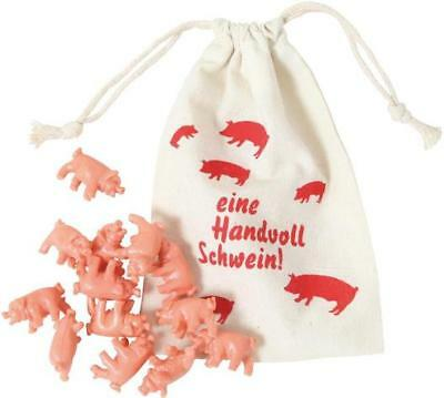 Throw the pigs in a BAG - Simple Funny, party, family game-12 pigs FREE SHIPPING