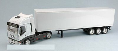 New Ray Camion Iveco Stralis 40'container Bianco1:43 15613Dss