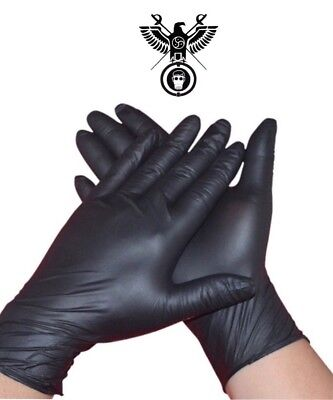 bondage kit micro textured high sensitivity black lube gloves HIGH QUALITY