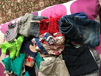Baby Boy Clothes Bundle 12-18 Months (Mainly Summer)