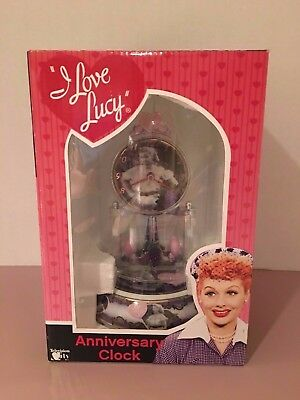 I Love Lucy MZ Berger Anniversary Clock Chocolate Factory Episode