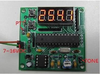 CTCSS encoder kit - crystal controlled - 47 tones with Digit LED Display