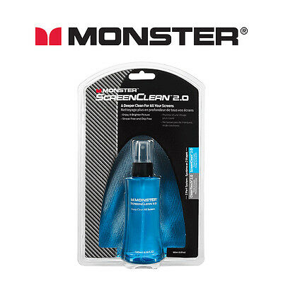 Monster Screen Clean 2.0 (Spray & Cloth)