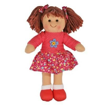 Hopscotch Childs Toy small Rag doll woollen hair soft body outfit ragdoll Hayley