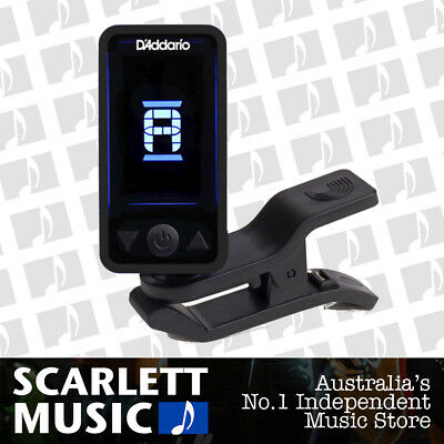 Planet Waves Black Eclipse Headstock Tuner Guitar Clip On CT17 CT-17 *BRAND NEW*