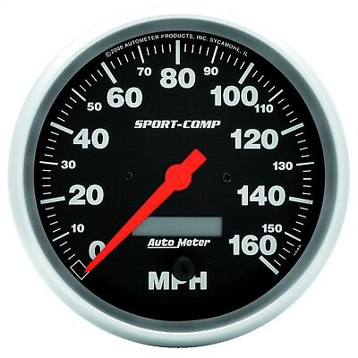 AutoMeter 3989 Sport-Comp Electric Programmable Speedometer
