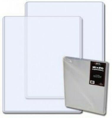 BCW 16 x 20 Topload Photo Holders - Plain - 10 Holders Per Pack (Quantity of 10)