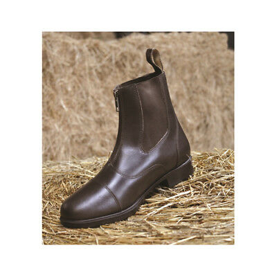 Mark Todd Toddy Leather Zip Front Short Paddock/Jodhpur Boots