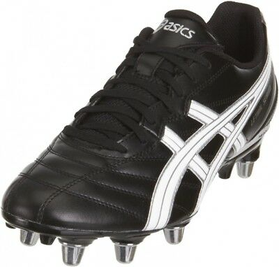 (7 UK, Black) - Asics Men's Lethal Scrum Rugby Boot. UK Sports & Ourdoors