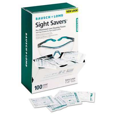 Bausch & Lomb Sight Savers Pre-Moistened Anti-Fog Tissues with Si 010119885764