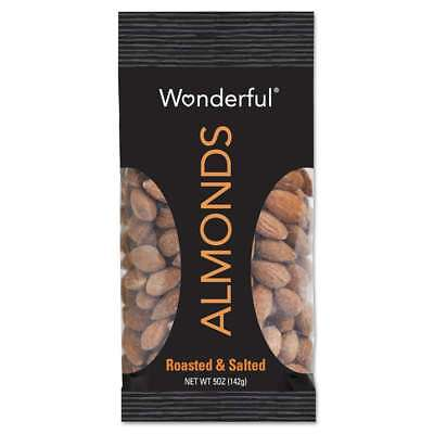 Paramount Farms® Wonderful Almonds, Dry Roasted & Salted, 5 oz, 8 014113210386