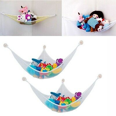 Small Toy Hammock Mesh Baby Childs Kid Bedroom Tidy Storage Nursery Net New
