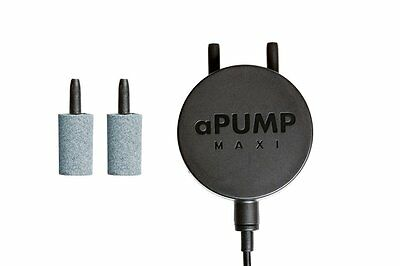 aPump MAXI Silent Air Pump  for aquarium, EU plug 220V-240V,  up to 200 L