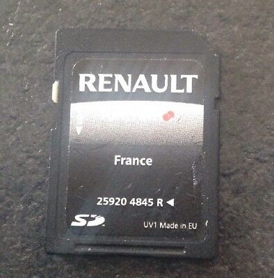 Carte SD- GPS TOMTOM France- Renault