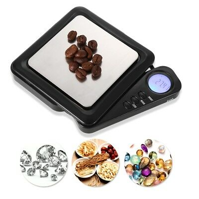100 x 0.01g High Precision Digital Weighing Scale with Back-lit LCD Display