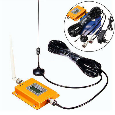 3G UMTS WCDMA 2100MHz Mobile Phone Signal Repeater Booster Amplifier w/ Antenna