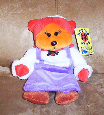 BEANIE KID Charity the Peasant Girl Bear  BK 313  Mint With Mint Tag