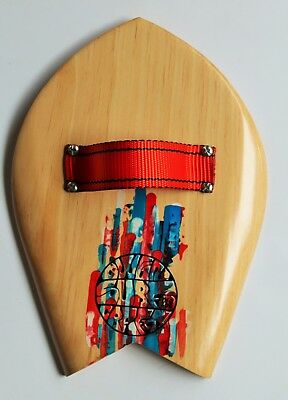 Owen Surfcraft- Handmade Wooden Bodysurfing Handplane- The Sparrow.