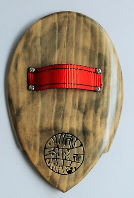Owen Surfcraft- Handmade Wooden Bodysurfing Handplane- The Pocket Pin.