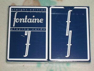 1 deck Sleight Edition Fontaine Playing Cards