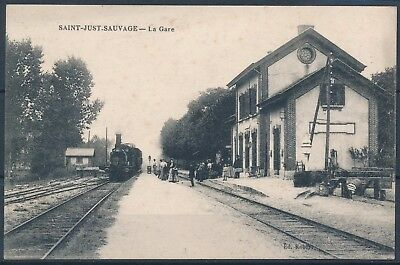 [AI976] Saint-Just-Sauvage - La Gare