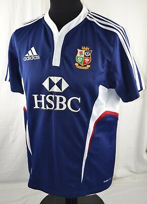 British Lions Rugby Union Adidas Shirt M South Africa 2009 Tour Lions RARE