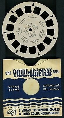 MYSTERY  Viewmaster reel 2022 PONTRESINA SUIZA extremely rare