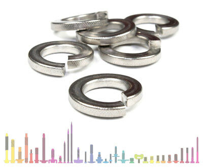 M2 - M30 Stainless Steel Spring Coil Washers