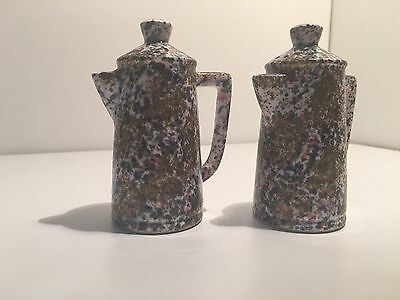 Retro Collectable Coffee Pot Salt & Pepper Shakers Collectable Japan