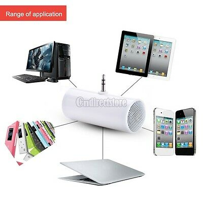 Portable Mini Stereo Speaker For MP3/MP4/Mobile phone/Tablet PCS White