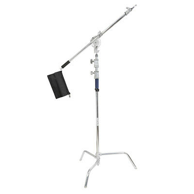 PIXAPRO ® Stainless Steel Century C-Stand with Super Heavy Duty Boom Arm