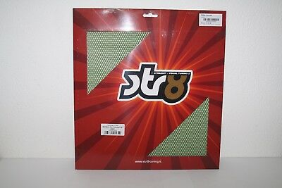 STR8 Racinggitter strong quality, 30x30cm, feiner Lochabstand in grün