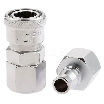 2 Euro Female Compress Air Line Coupler Connector Fitting 3/8″ BSP Quick Release