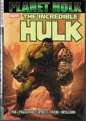 Planet Hulk by Pak, Pagulayan, Lopresti + 2007 HC Marvel 1st Edition 1st Print