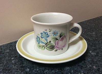 Royal Doulton Dubarry Cup & Saucer Set  Made in England