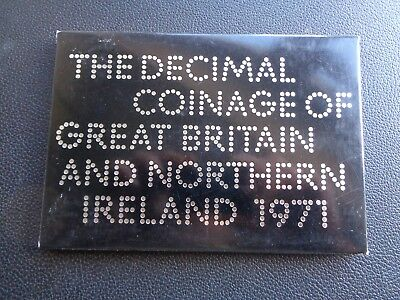 1971 Royal Mint Proof Coin Set Ref 1