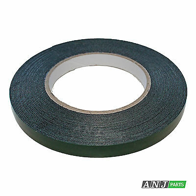 9mm Double Sided Sticky Tape - Car Badge/Trim Foam Tape 10m roll (BT-9)