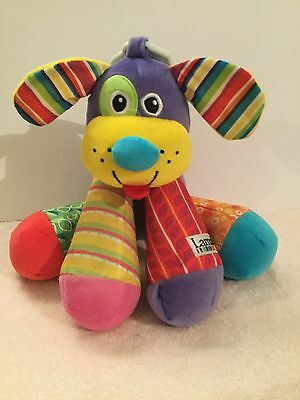 "Lamaze Puppytunes Plush Dog Soft Toy 11"" Musical Infant Hangable Squeaks VGC"