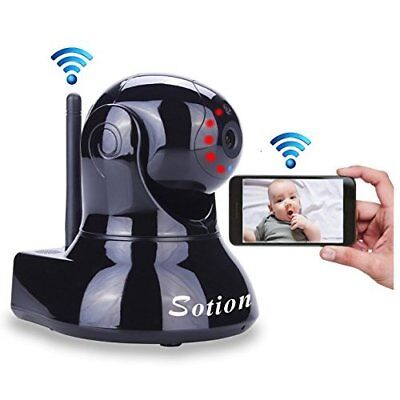 WiFi Wireless Baby Monitor HD Video Camera 2-Way Audio Night Vision High Quality