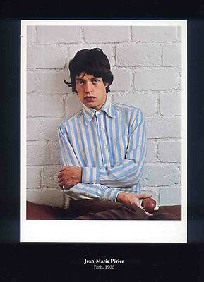 Mick Jagger Poster Page 1966 The Rolling Stones . F4