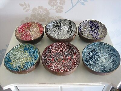 Brilliant Coconut Bowls - in Stunning Colours!