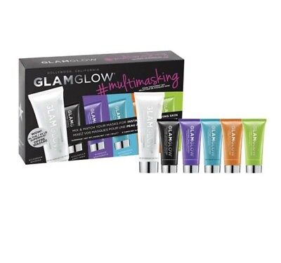 Glam Glow #multimasking Mask Treatment Set Limited Edition Bnib