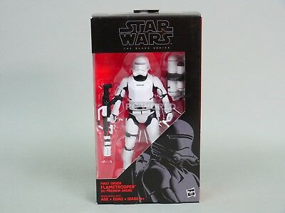 "Star Wars The Black Series  FLAME TROOPER 16  6"" Action Figure #ww"
