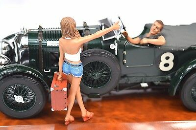 Hitchhiker 2 Figure Set American Diorama 23896 1:18 Accessory Model Not Incl