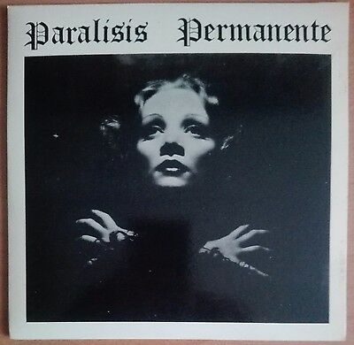 "PARALISIS PERMANENTE - NACIDOS PARA DOMINAR - 7"" Single"