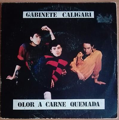 "GABINETE CALIGARI - OLOR A CARNE QUEMADA - 7"" Single"