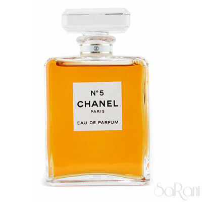 Profumo Donna Chanel n° 5 Paris Eau de Parfum Fragranza Splash 100 ml SARANI