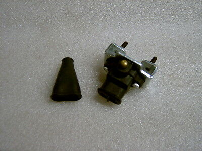 Lambretta Brake Light Switch And Cover Two Hole Fits Series 3 Li Sx Gp