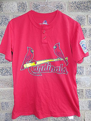 Vintage Louisville Cardinals Little league baseball jersey by Majestic