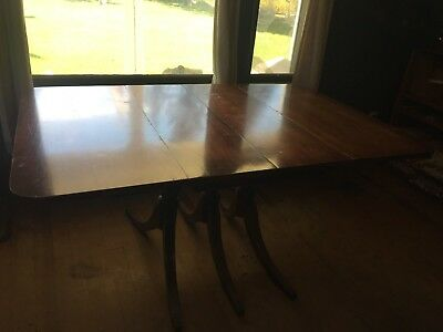 Antique Cherry Duncan Phyfe Style Table